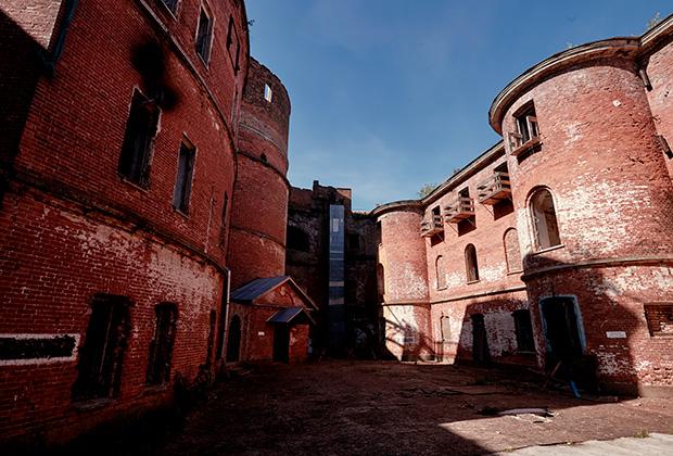 Форт «Император Александр I» в Кронштадте