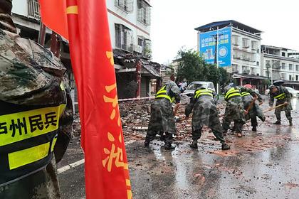 Землетрясение в Китае уничтожило более 200 тонн водки