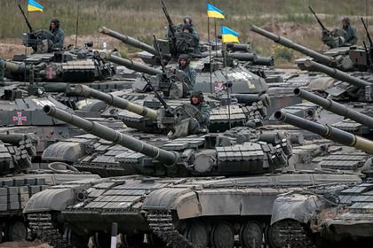 Украина запланировала начать наступление в Донбассе на случай болезни Путина