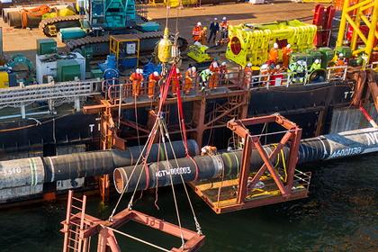 В Евросоюзе рассказали о сроках сертификации «Северного потока-2»