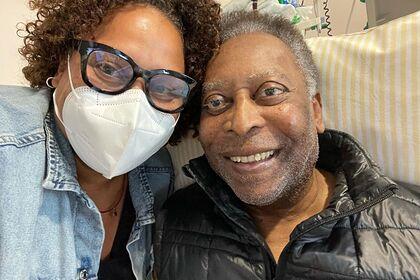 Дочь Пеле рассказала о здоровье отца