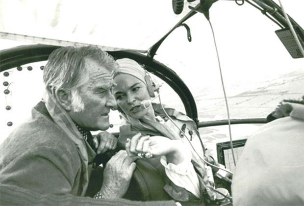 Рой Бейтс и его жена