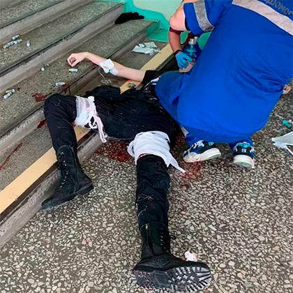 Напавший на вуз в Перми после задержания