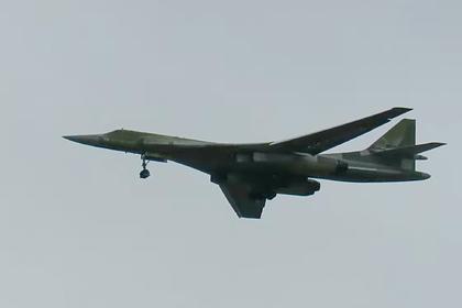 Полет Ту-160М с новым двигателем попал на видео