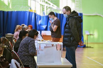 Появились результаты выборов в Госдуму