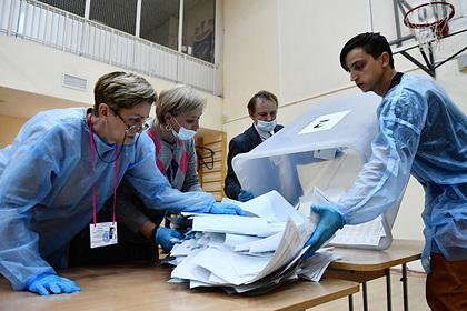 Появились данные обработки всех протоколов на выборах в Госдуму