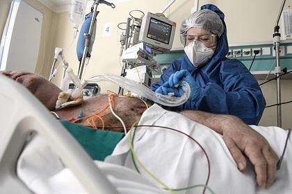 В Подмосковье выросло число госпитализированных с COVID-19