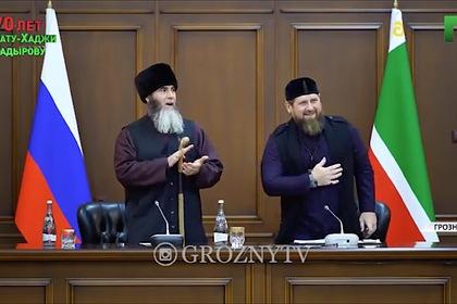 Кадыров узнал о своей победе на выборах под крики «Аллаху акбар!»