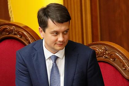 Спикера Рады обвинили в саботаже инициатив Зеленского