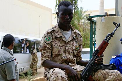 Пытавшихся устроить переворот в Судане офицеров арестовали