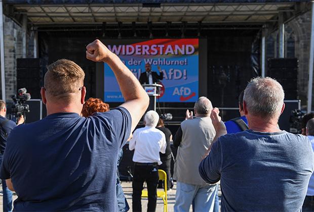 Митинг «Альтернативы для Германии» (АдГ)