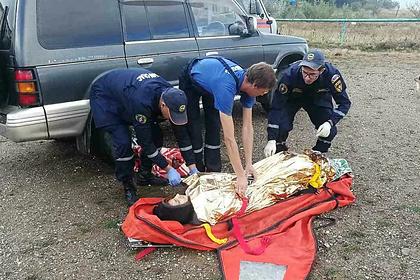 Россиянка всю ночь искала помощи в горах Крыма после взрыва в палатке