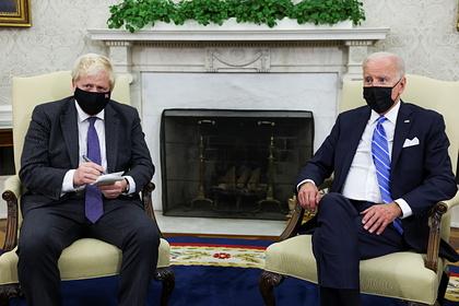 Джонсон и Байден договорились о подходе к России и Китаю