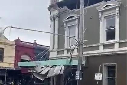 Сильнейшее за полтора века землетрясение повредило несколько зданий в Австралии