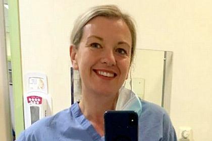Медсестра насмотрелась на смерть пациентов от COVID-19 и сбросила 34 килограмма