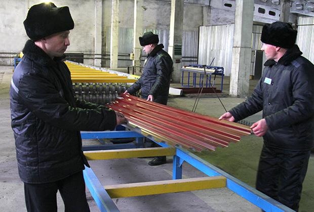 Производство металлопроката в одной из колоний Мордовии