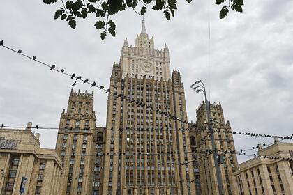 МИД России обвинил США в манипуляциях с помощью виз