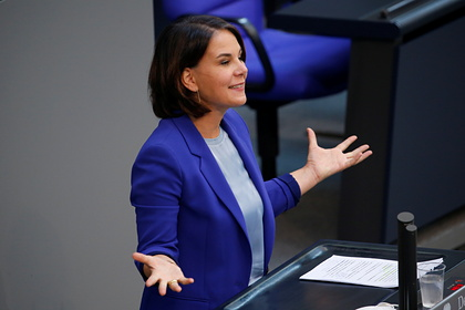Кандидат в канцлеры Германии обвинила Россию в высоких ценах на газ
