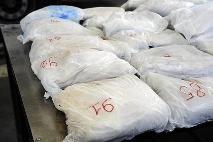 В турецкой провинции изъяли 566 килограммов героина