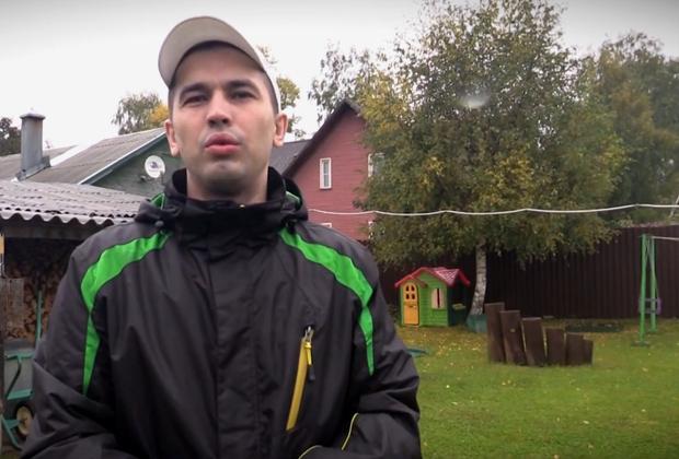 Александр Зобенков на своем участке