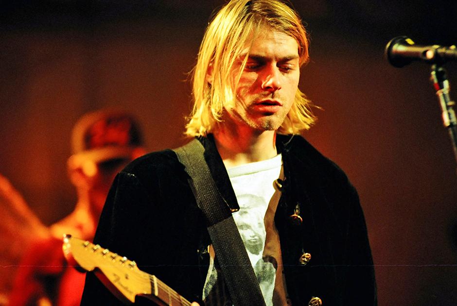 Курт Кобейн в 1993 году