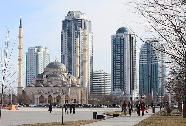 «Грозный-Сити» и мечеть «Сердце Чечни»