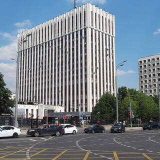 Здание Министерства юстиции РФ в Москве
