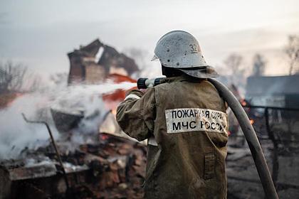 В России в доме заживо сгорели двое детей