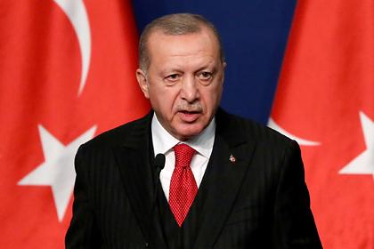Эрдоган призвал изменить уровень отношений между США и Турцией