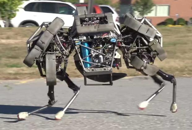 Робот WildCat от Boston Dynamics