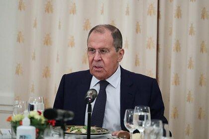 Лавров оценил вооружение Афганистана после ухода США