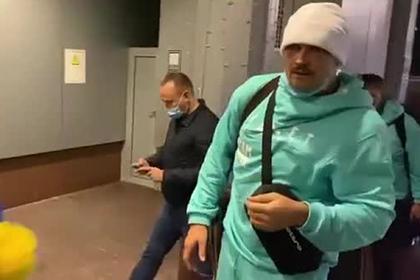 Появилось видео встречи Усика на Украине после победы над Джошуа