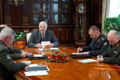Лукашенко рассказал о специальных лагерях для «работы по Белоруссии» на Украине