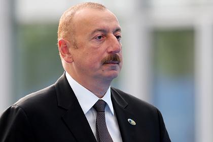 Алиев рассказал о претензиях Азербайджана к российским миротворцам