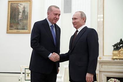 Путину и Эрдогану предрекли «историческую сделку» на встрече в Сочи