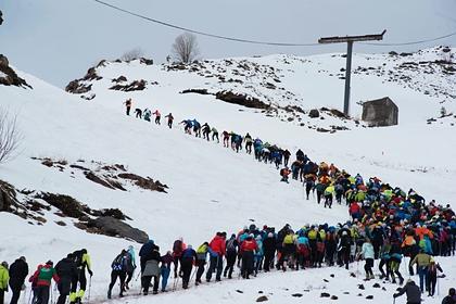 Альпинист сравнил очереди на Эльбрус с пробками в Москве