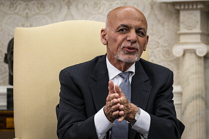 В Пентагоне предположили местонахождение экс-президента Афганистана
