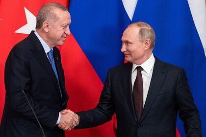 Стало известно о планах Эрдогана попросить у Путина помощи
