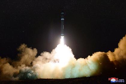Северная Корея впервые испытала гиперзвуковую ракету