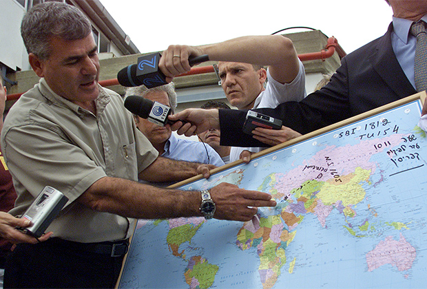 Гендиректор Управления аэропортов Израиля Габи Офир рассказывает о крушении Ту-154 над Черным морем