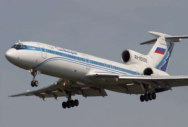 Ту-154М авиакомпании «Сибирь», идентичный сбитому украинцами