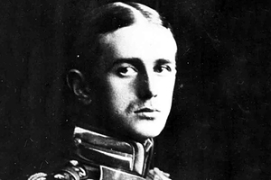 Jan Nagrski, one of Polish pioneers of aviation, the first guy to fly a plane in the Arctic Here in a Russian WWI uniform