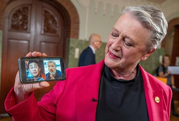 Председатель Нобелевского комитета Берит Райсс-Андерсен (Berit Reiss-Andersen)