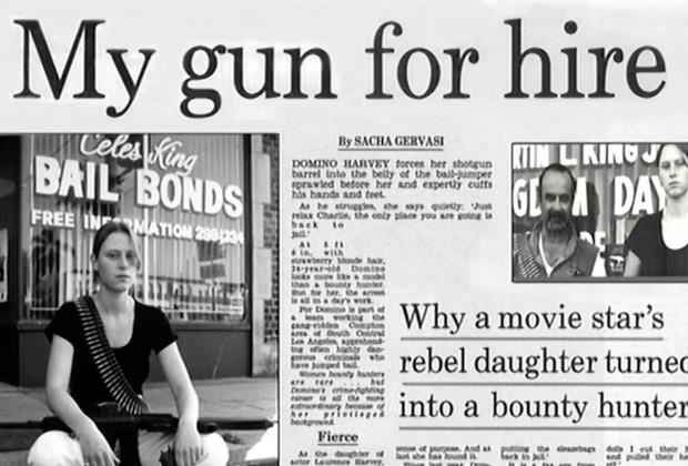 Статья о Домино Харви в газете The Mail on Sunday