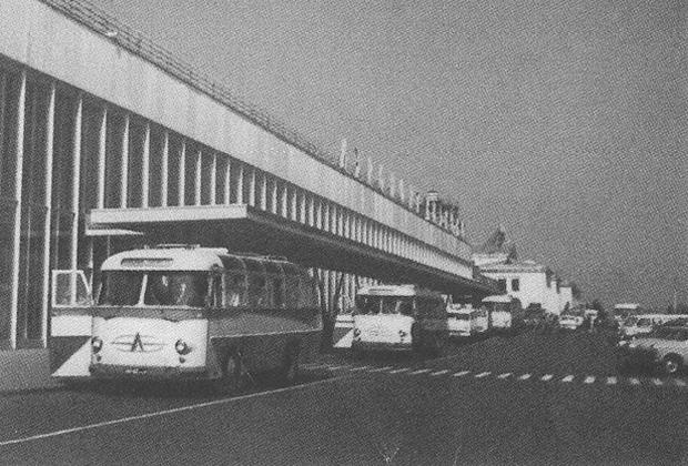 Аэропорт Внуково. 70-е годы XX века