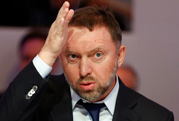 Бизнесмен Олег Дерипаска, попавший под санкции США