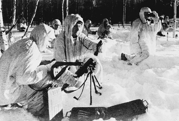 Контрнаступление советских войск против немецко-фашистских захватчиков в битве под Москвой, 5 декабря 1941 года
