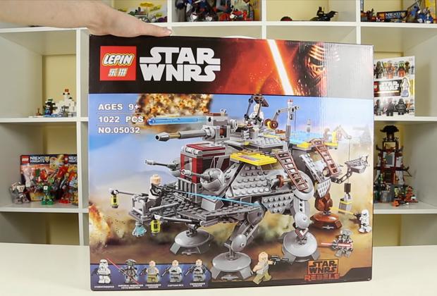 Китайская подделка Lego