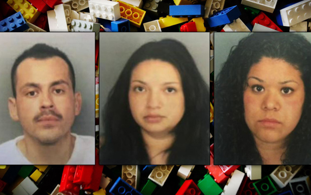 Банда похитителей Lego, арестованная в Сан-Диего