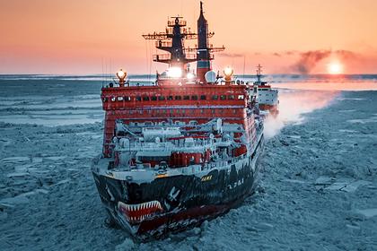 В России построят пять ледоколов до 2033 года